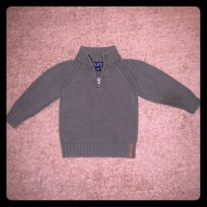 3 for $15 Olive green children's place zip sweater